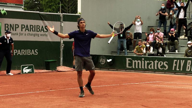 Teniszfanoknak kötelező néznivaló: Musetti egyszemélyes show-ja