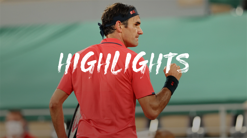 Federer - Koepfer - Roland-Garros