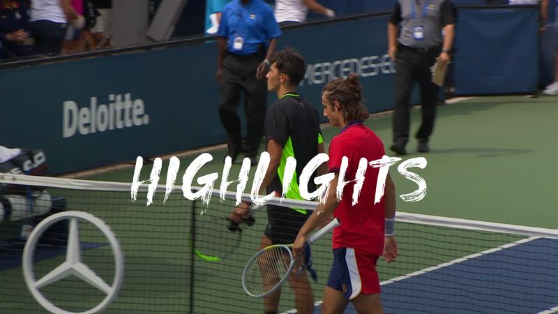 Musetti vs. Nava - US Open Highlights
