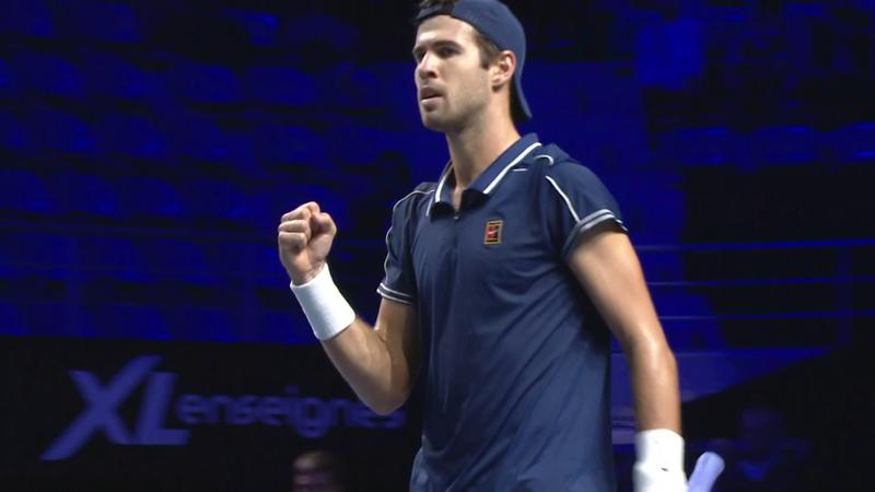 ATP Metz: Khachanov - Muller összefoglaló