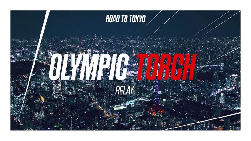La antorcha olímpica de Tokio 2020 sigue su camino