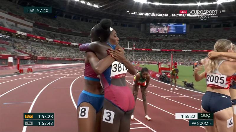 Jocurile Olimpice: Athing Mu a cucerit medalia de aur la proba de 800 de metri