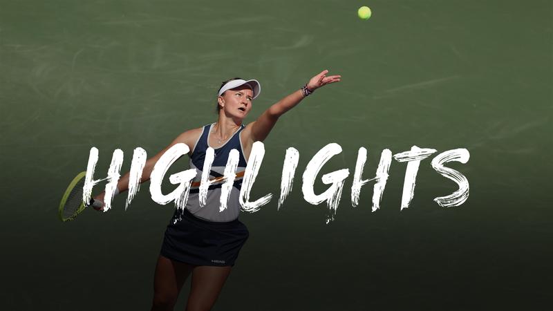 Krejcikova - Rakhimova - US Open