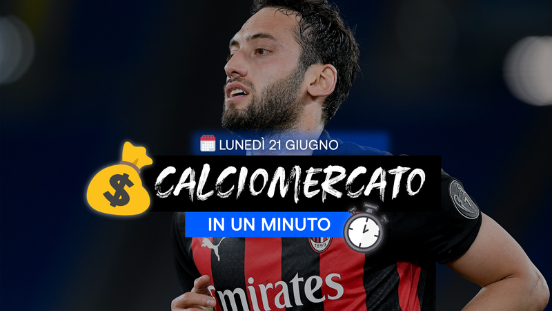 Çalhanoglu all'Inter; il City offre 117 milioni per Kane