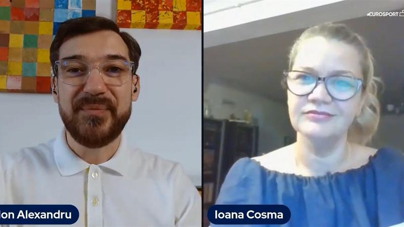 Ioana Cosma, după ce a devenit prima femeie din istoria României care comentează un meci de la Euro