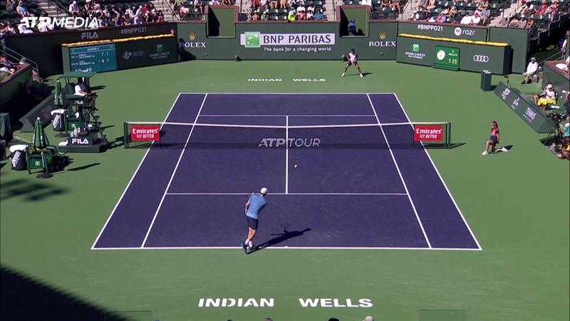 Indian Wells | Murray wint tegen Alcaraz game met onderhandse service