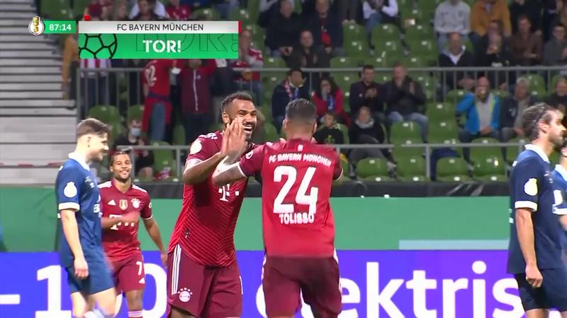 Bayern'den bir düzine gol
