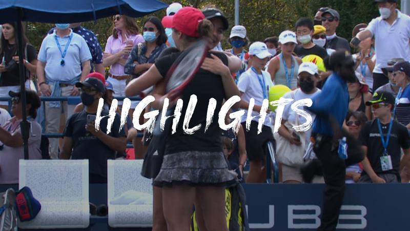 Niculescu/Ruse - Fernandez/Routliffe  - US Open