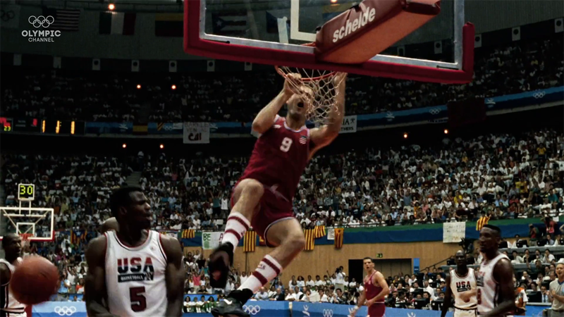 The Dream Team - Relive one of the great Olympic stories