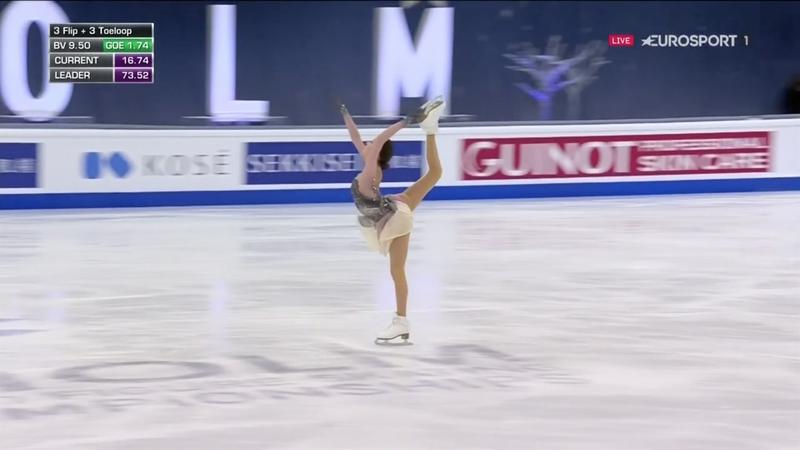 Anna Shcherbakova vince l'oro mondiale a Stoccolma