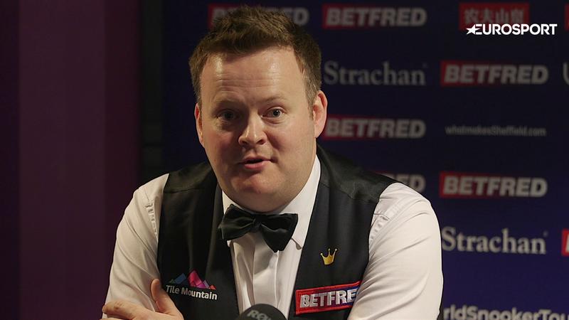 Snooker vb  Shaun Murphy interjú