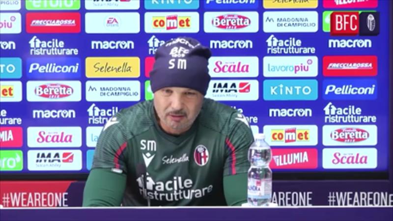 """Mihajlovic agli arbitri: """"Non siamo scolaretti, serve dialogo"""""""