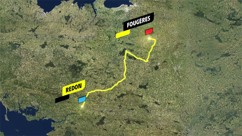 Stage 4 profile: Redon - Fougères