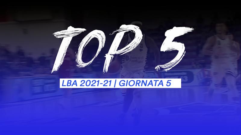 Top 5: le giocate migliori della 5a: Alibegovic vola alto!
