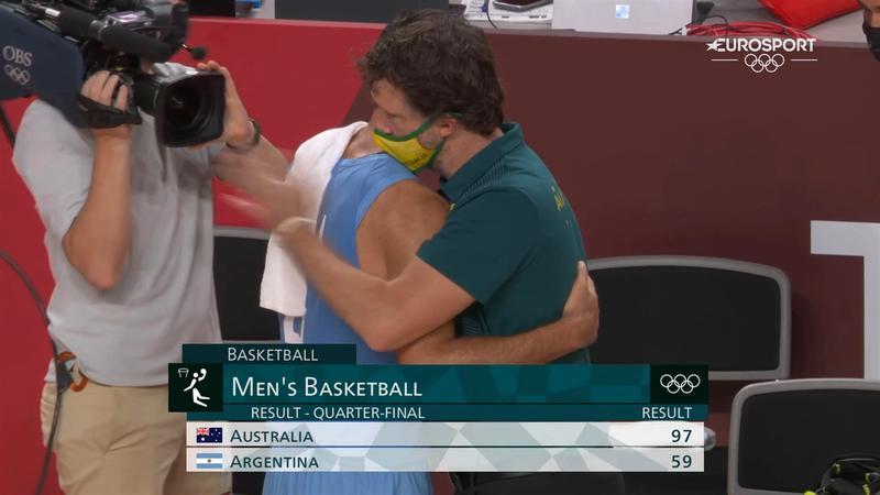 Jocurile Olimpice, baschet: Australia - Argentina 97-59 în sferturile de finală