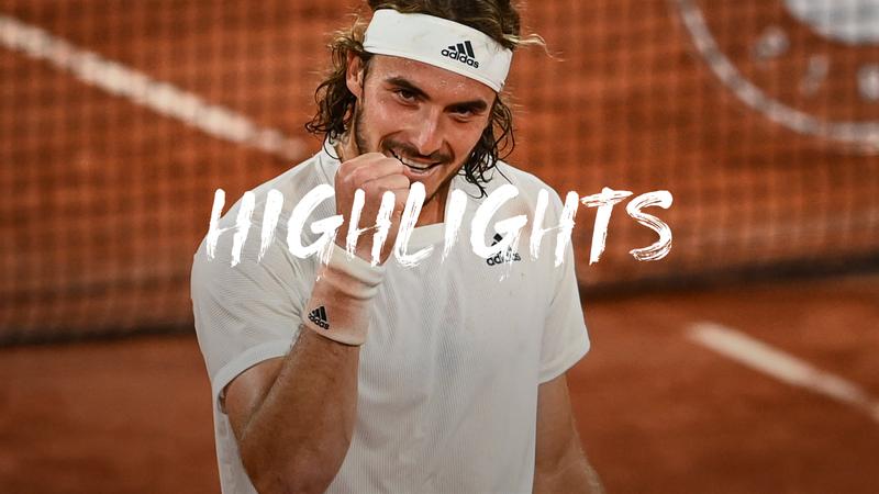 Roland-Garros: Day 10 - Highlights Tsitsipas v Medvedev