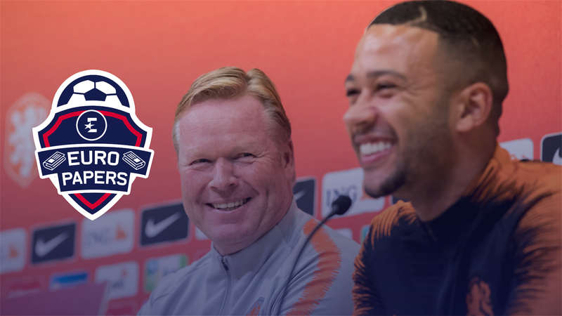 Depay set to sign for Barcelona in bargain deal - Euro Papers