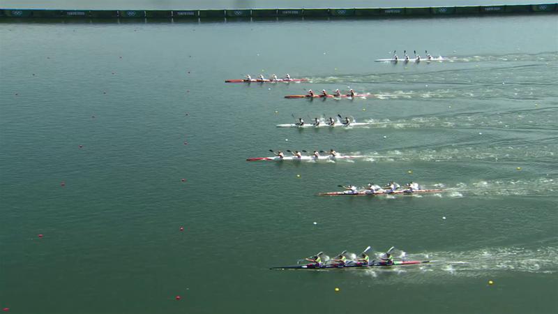 Canoe Sprint Men's Kayak Four 500m Quarterfinal - Tokyo 2020 - Rezumate de la Olimpiadă