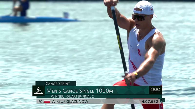 Canoe Sprint Men's Canoe Single 1000m Quarterfinal - Tokyo 2020 - Rezumate de la Olimpiadă
