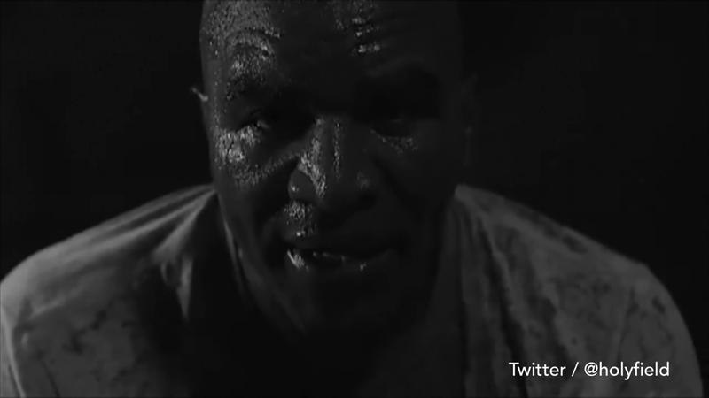 Evander Holyfield, 57 anni, si prepara al grande re-match con Mike Tyson
