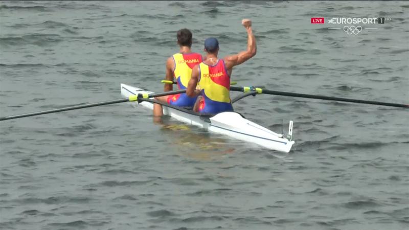 Jocurile Olimpice, canotaj: Marius Cozmiuc și Ciprian Tudosă câștigă medalia de argint la dublu rame
