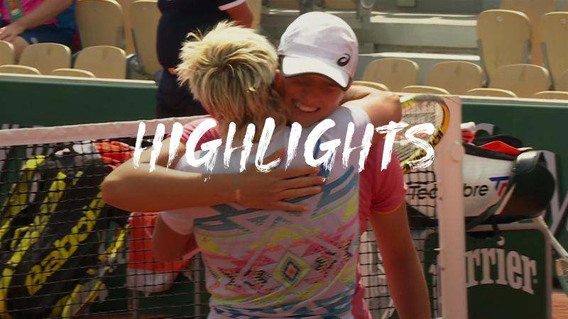 Roland-Garros: Day 10 - Highlights Swiatek Mattek-Sands / Jurak - Keplac