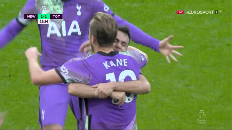 Newcastle – Tottenham 1-2. Kane înscrie dintr-o fază în care a crezut că e în offside