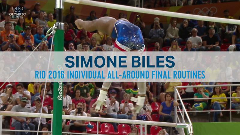 Best Olympics moments: Simone Biles - Rio 2016