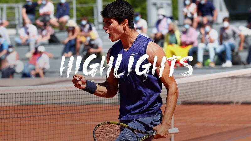 Alcaraz - Zapata Miralles - Roland-Garros Highlights