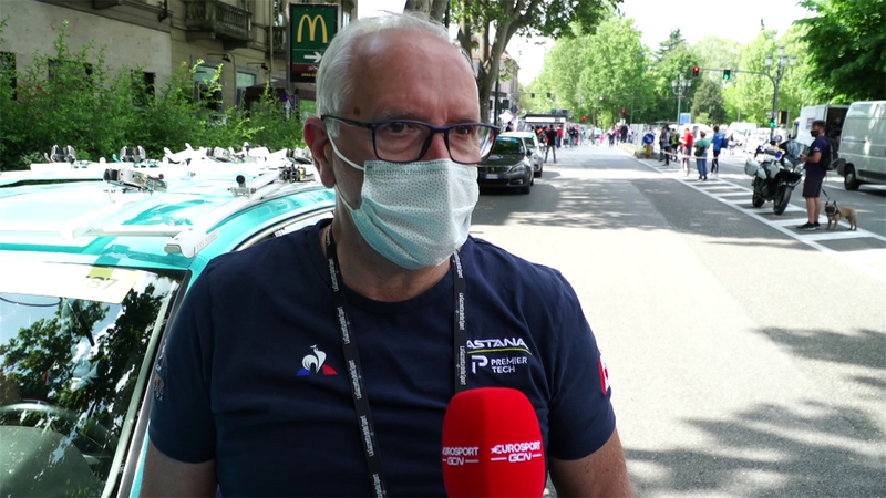 """Martinelli: """"Spero che Vlasov non sia lontano. Favoriti? Ganna"""""""