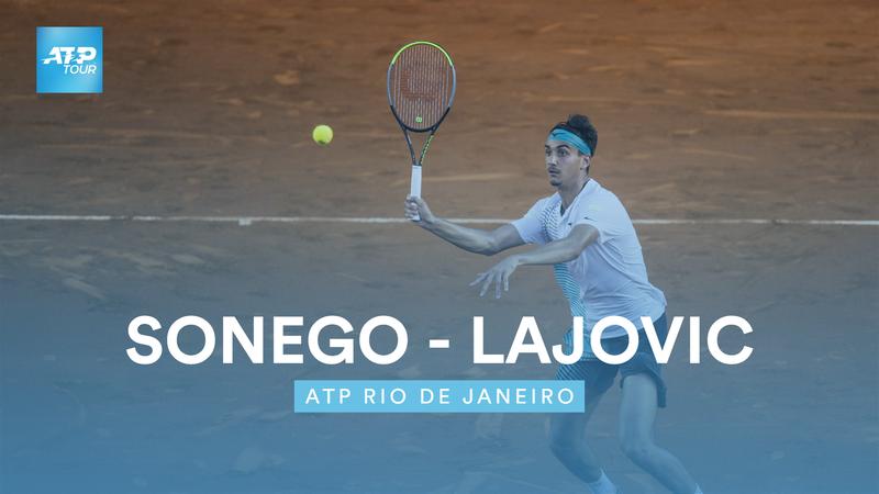 Höjdpunkter:  Sonego - Lajovic