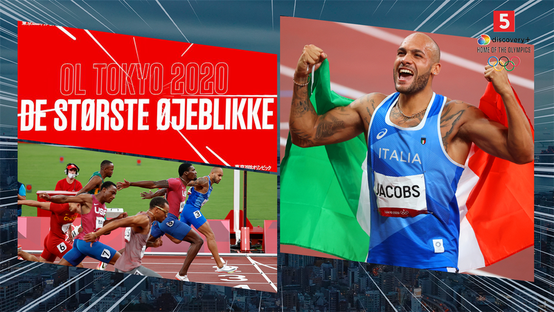 Største øjeblikke: Da italienske Marcell Jacobs blev verdens hurtigste mand