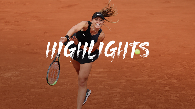Badosa - Vondrousova   - Roland-Garros