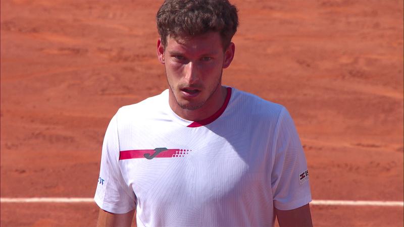 Пабло Каррено – Ласло Дьере. ATP Рим – лучшие моменты игры