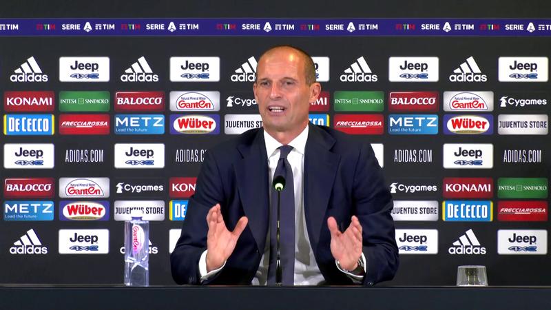 """Allegri: """"Dybala ci sarà contro l'Inter, è quasi sicuro"""""""
