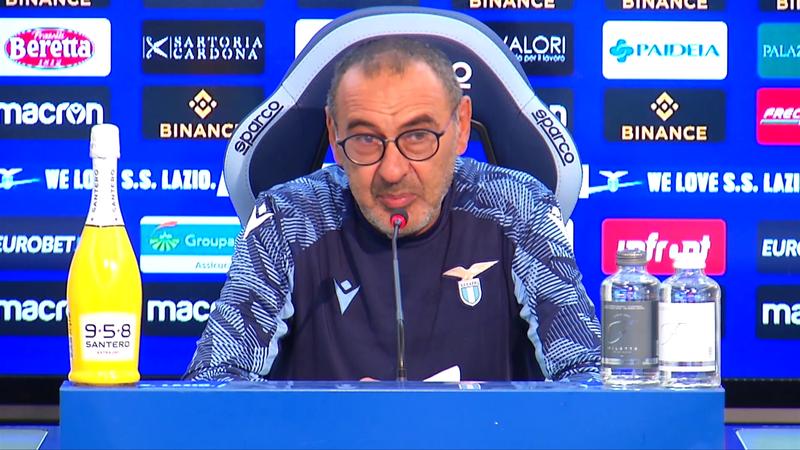 """Sarri: """"Luis Alberto? Speriamo di risolvere tutti i problemi per..."""""""