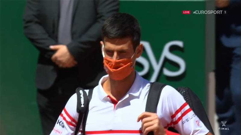 Djokovic and Tsitsipas walk out for final at Roland Garros