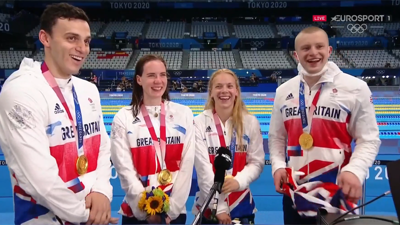 'You can literally achieve anything!' – Peaty on the hard work behind GB medal rush