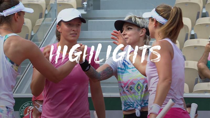 Mattek-Sands/Swiatek - Begu/Podoroska - Roland-Garros
