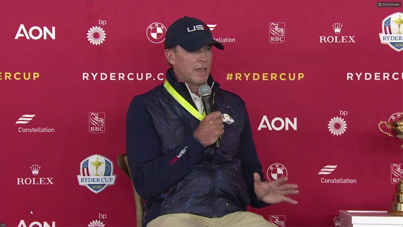 Ryder Cup captains excited for the week after Team Europe arrives in the US