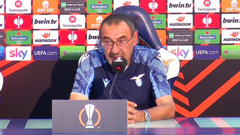 """Sarri: """"Polemiche derby? Rigore Roma non esiste e Zaniolo era in offside"""""""