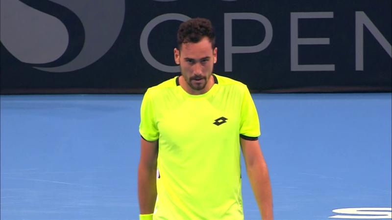 ATP Szófia: Mager v Mannarino