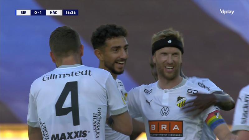 Allsvenskan: Tremendo golazo desde más allá del centro del campo de Irandust