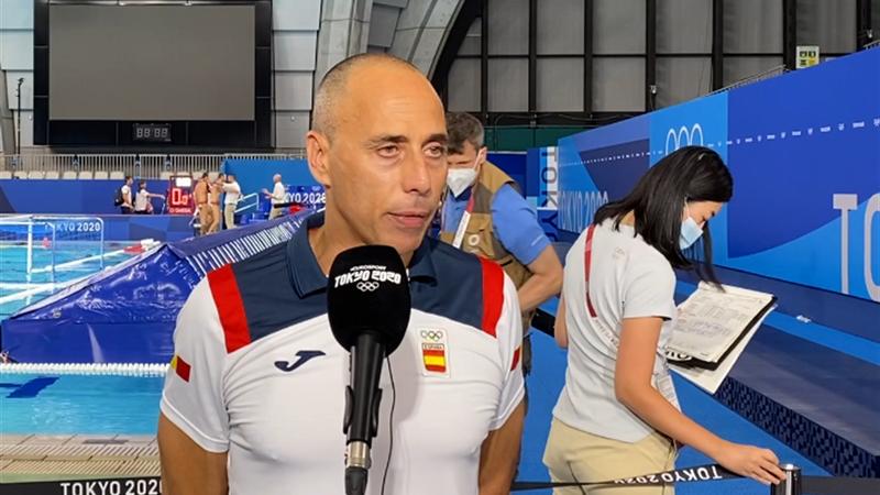 Waterpolo (H) | El seleccionador David Martín analiza en Eurosport la dura derrota ante Hungría