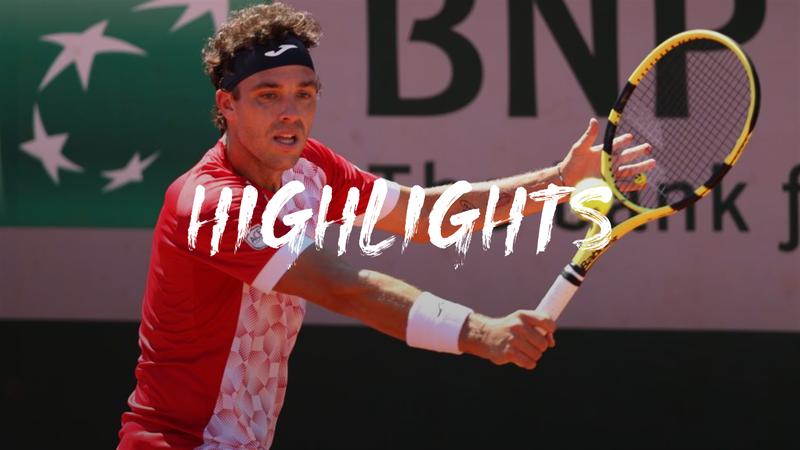 Cecchinato - Uchiyama - Roland-Garros Highlights