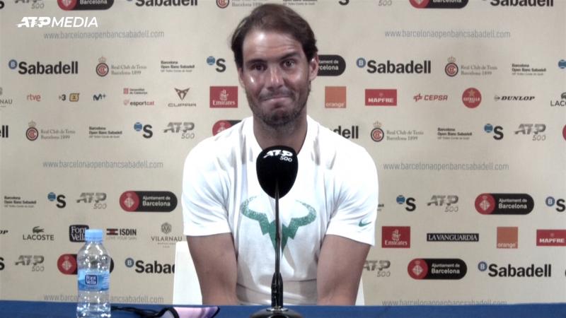 """Nadal: """"Ho passato momenti difficili, ma amo questo sport"""""""