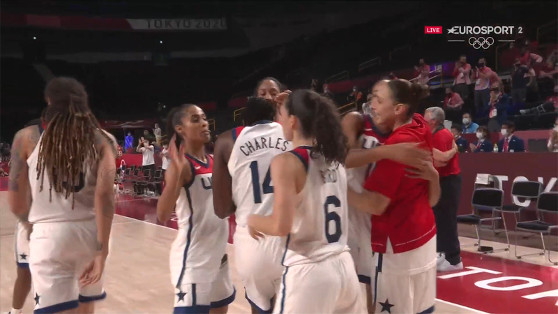Jocurile Olimpice, baschet feminin: SUA cucerește medalia de aur la tokyo 2020! 90-75 cu Japonia
