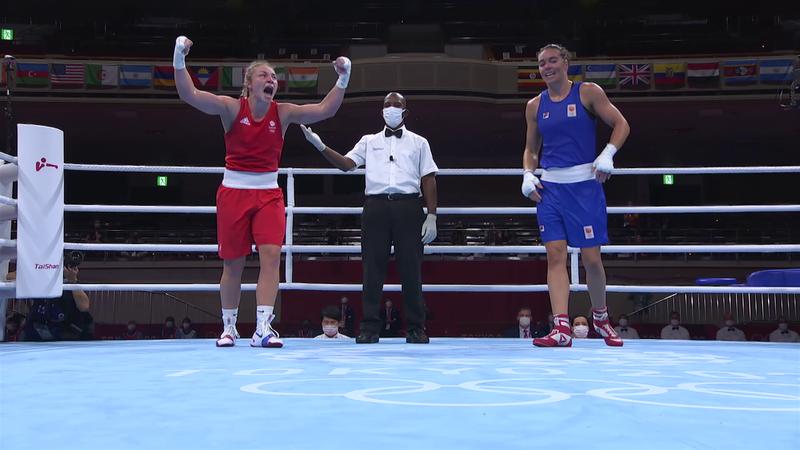 Tokyo 2020 - Great Britain mot Netherlands - Boxing Women's Middle – OL-høydepunkter