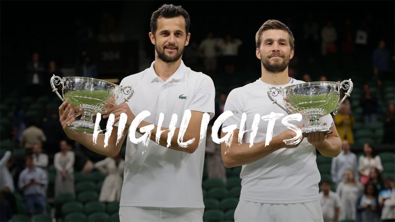 Wimbledon: Nikola Mektic és Mate Pavic nyerte a férfi párosok versenyét