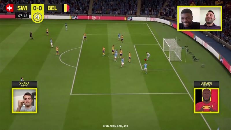 Lukaku beats Xhaka in dramatic style as FIFA 2020 tournament gets underway